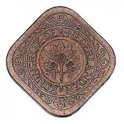 Koninkrijksmunten Nederland 5 cent 1914
