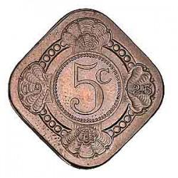 Koninkrijksmunten Nederland 5 cent 1923