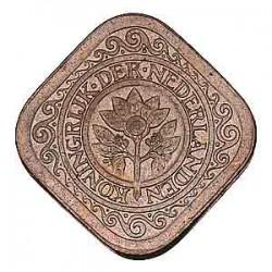 Koninkrijksmunten Nederland 5 cent 1934