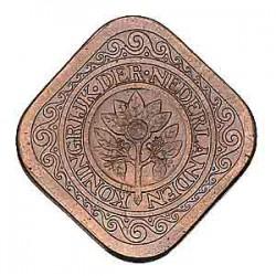 Koninkrijksmunten Nederland 5 cent 1936