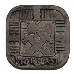 Koninkrijksmunten Nederland 5 cent 1941 zink
