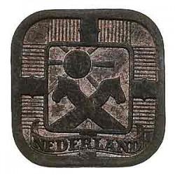 Koninkrijksmunten Nederland 5 cent 1943 zink