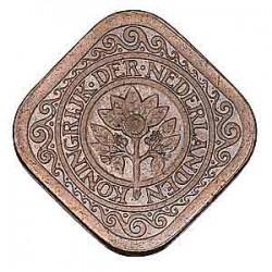 Koninkrijksmunten Nederland 5 cent 1943