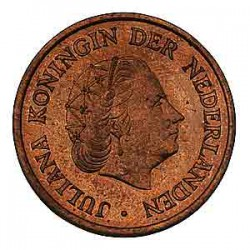 Koninkrijksmunten Nederland 5 cent 1951