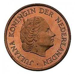 Koninkrijksmunten Nederland 5 cent 1969 haan