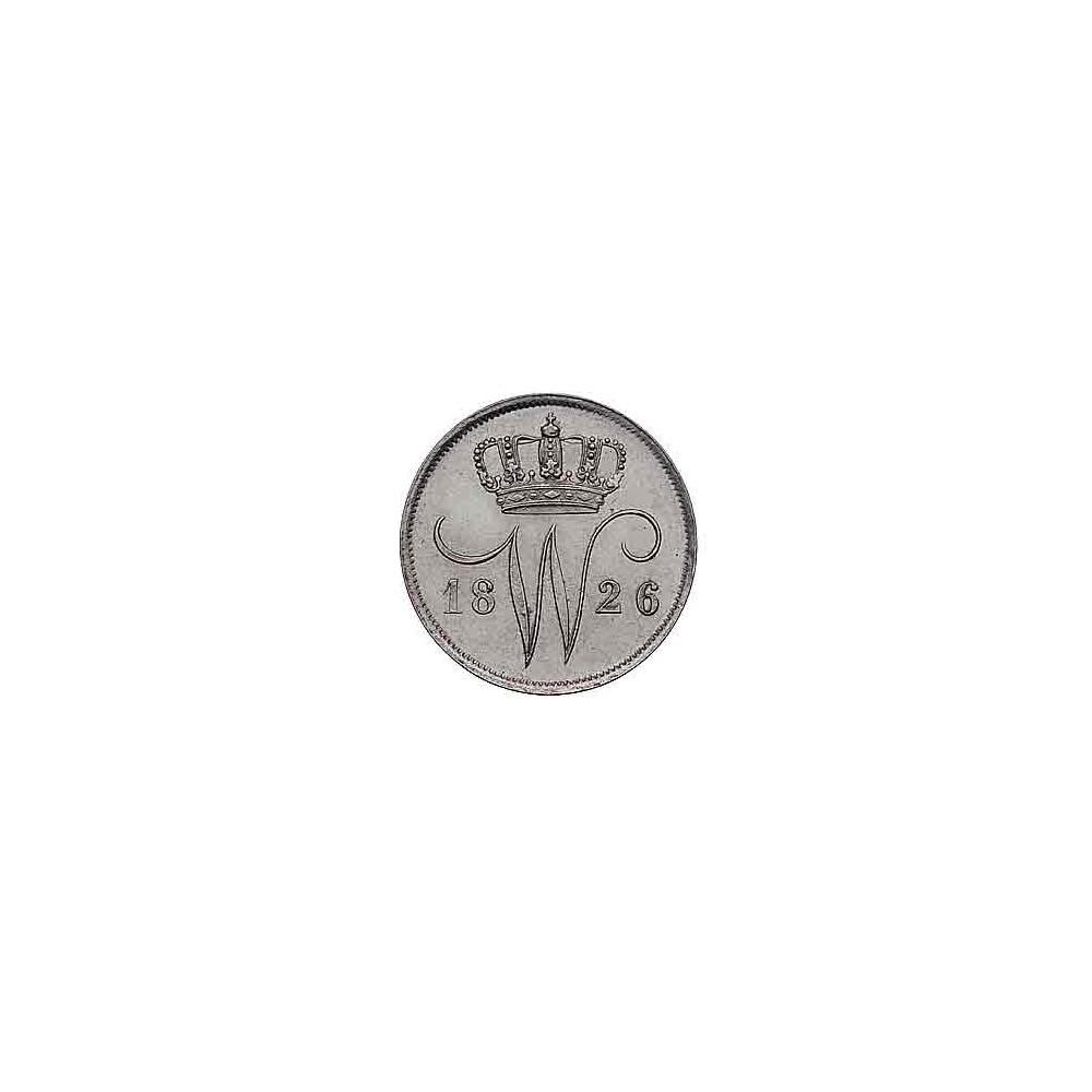 Koninkrijksmunten Nederland 10 cent 1826 U