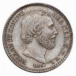 Koninkrijksmunten Nederland 10 cent 1850