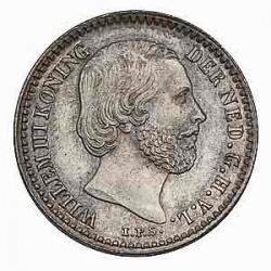 Koninkrijksmunten Nederland 10 cent 1853