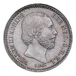 Koninkrijksmunten Nederland 10 cent 1862