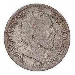 Koninkrijksmunten Nederland 10 cent 1863