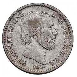 Koninkrijksmunten Nederland 10 cent 1869