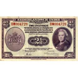 Nederlands Indië 2½ gulden 1943