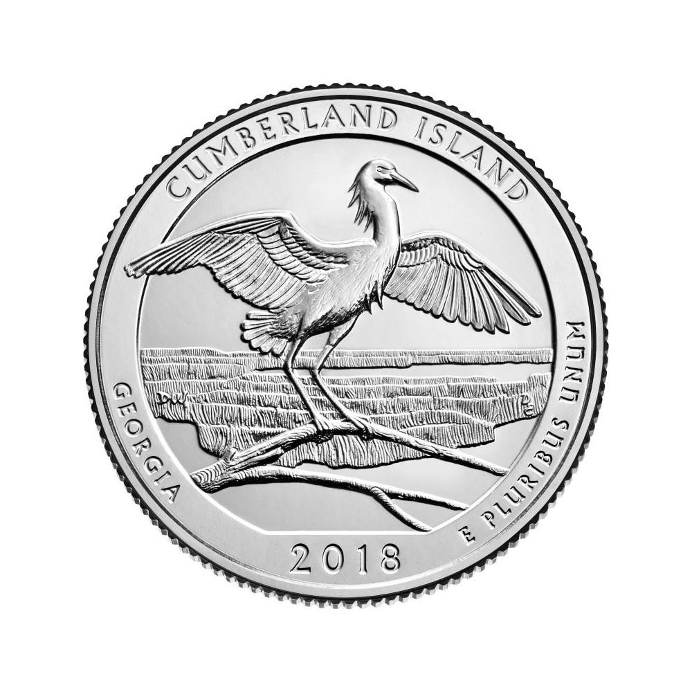 USA Quarter 2018 Georgia 'Cumberland Island'