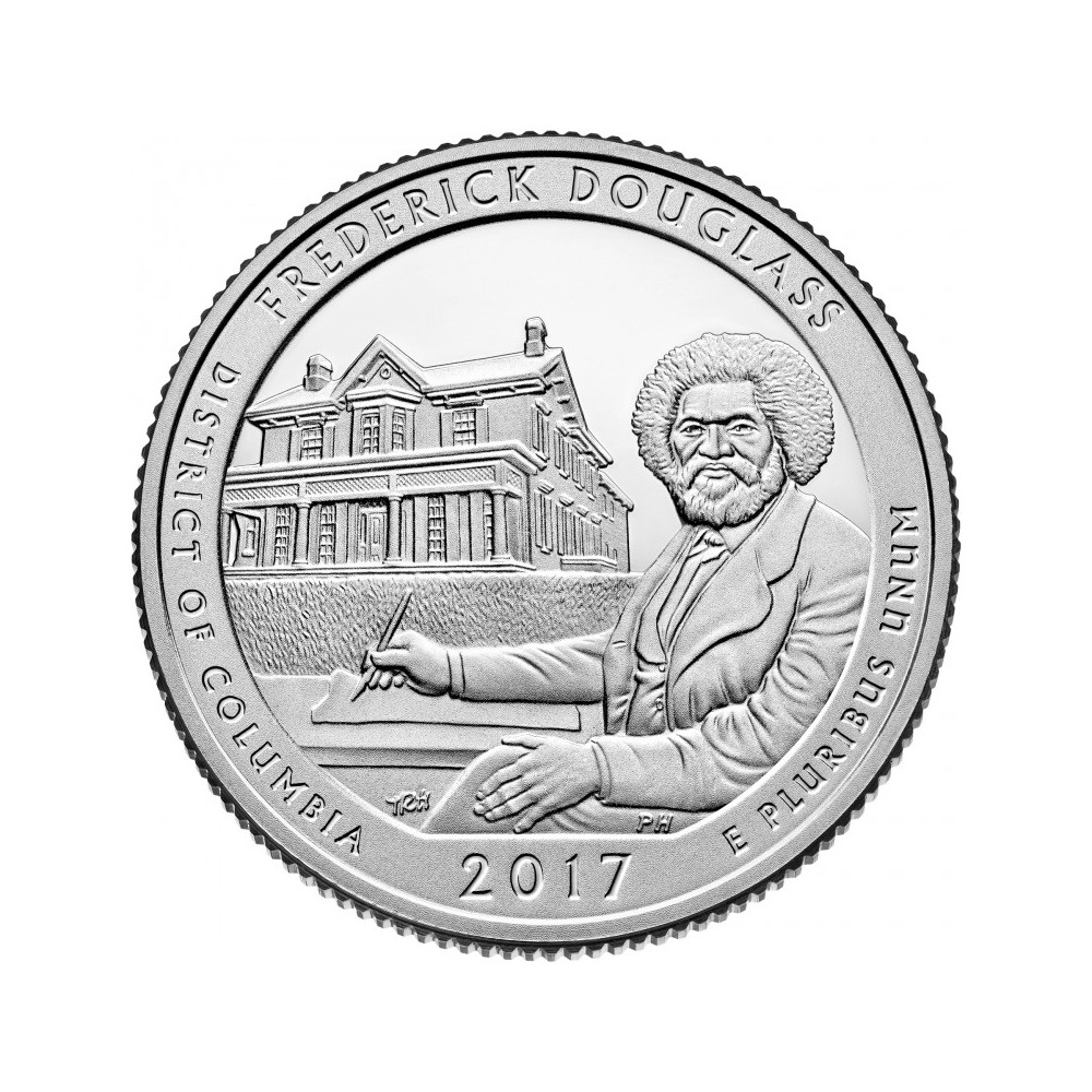USA Quarter 2017 District of Columbia 'Frederick Douglass'