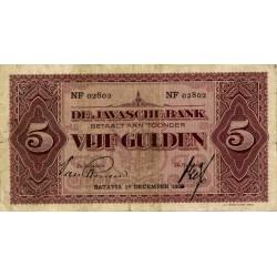 Nederlands Indië 5 gulden 1924