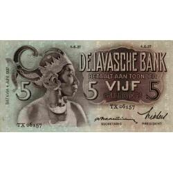 Nederlands Indië 5 gulden 1933