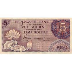 Nederlands Indië 5 gulden 1946
