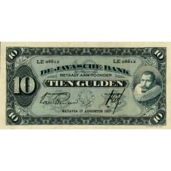 Nederlands Indië 10 gulden 1924