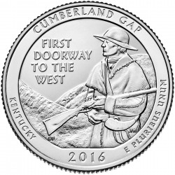 USA Quarter 2016 Kentucky 'Cumberland Gap'
