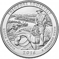USA Quarter 2016 North Dakota 'Theodore Roosevelt'