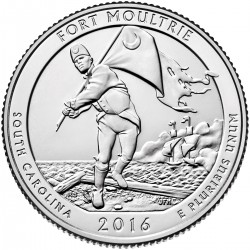 USA Quarter 2016 South Carolina 'Fort Moultrie'