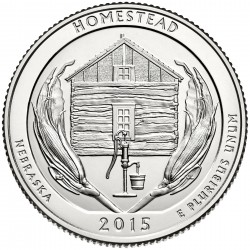 USA Quarter 2015 Nebraska 'Homestead'