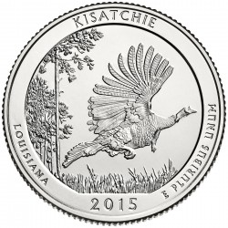 USA Quarter 2015 Louisiana 'Kisatchie'