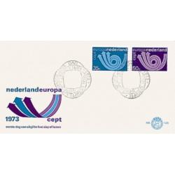 1973 Nederland FDC | Europa