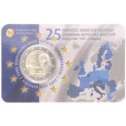 België 2 euro 2019 '15 jaar EMI' coincard Engels/Nederlandse tekst