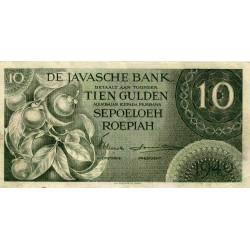 Nederlands Indië 10 gulden 1946