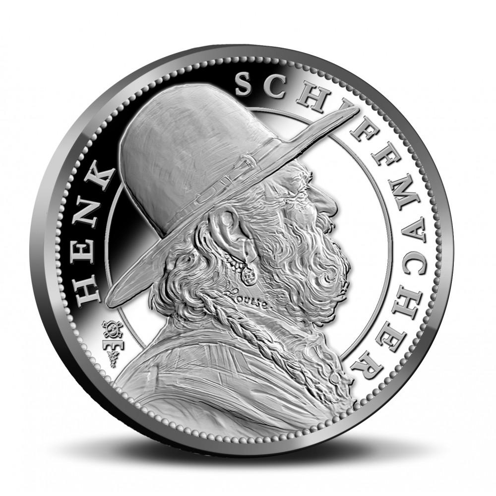 Nederland penning in coincard 2019 'Henk Schiffmacher'