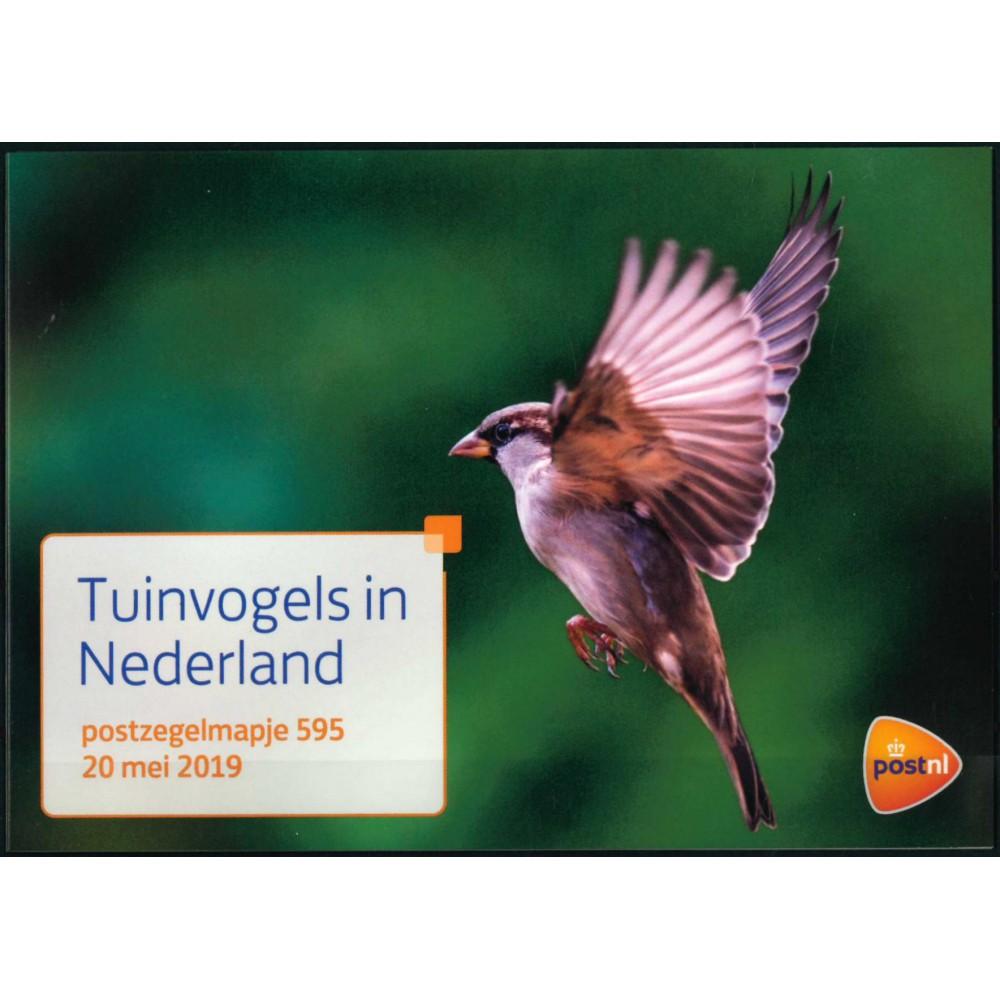 2019 Nederland postzegelmapje | Tuinvogels in Nederland