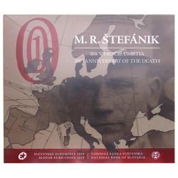 Slowakije BU-Set 2019 '100e sterfdag Milan Rastislav Stefanik'