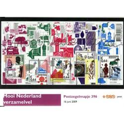 2009 Nederland Postzegelmapje Mooi Nederland verzamelvel