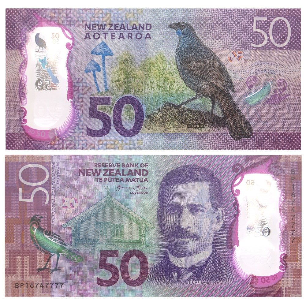 Nieuw Zeeland serie polymeer Dollars 2016