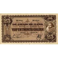 Nederlands Indië 25 gulden 1924