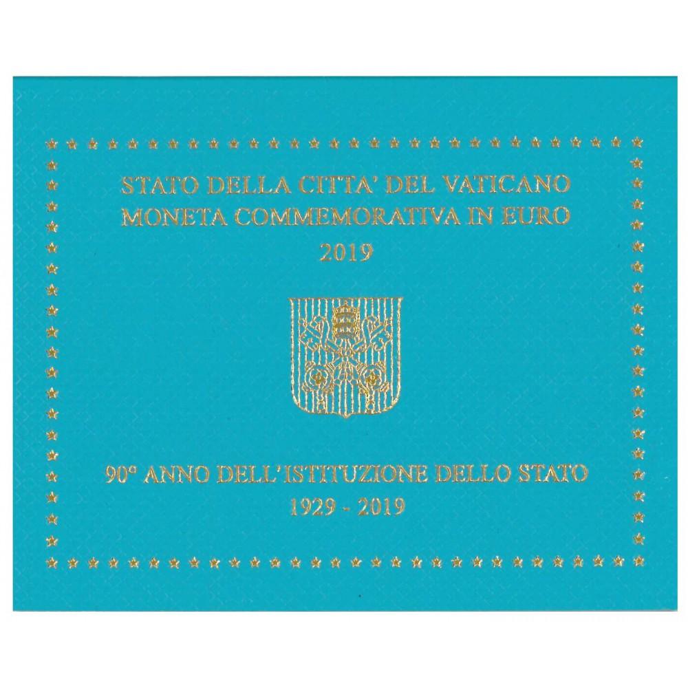 Vaticaan 2 euro 2019 in blister 'Oprichting Vaticaan'