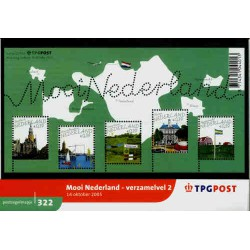 2005 Nederland Postzegelmapje | Mooi Nederland - verzamelvel 2