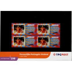 2004 Nederland Postzegelmapje   Persoonlijke postzegel