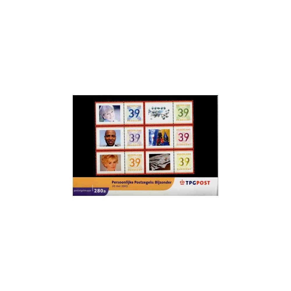 2003 Nederland Postzegelmapje | Persoonlijke postzegels: Bijzonder