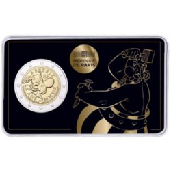 Frankrijk 2 euro 2019 '60 jaar Asterix' - BU-kwaliteit in coincard 'Obelix' - Leverbaar eind week 24