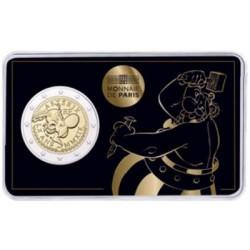 Frankrijk 2 euro 2019 '60 jaar Asterix' - BU-kwaliteit in coincard 'Obelix' Niet leverbaar