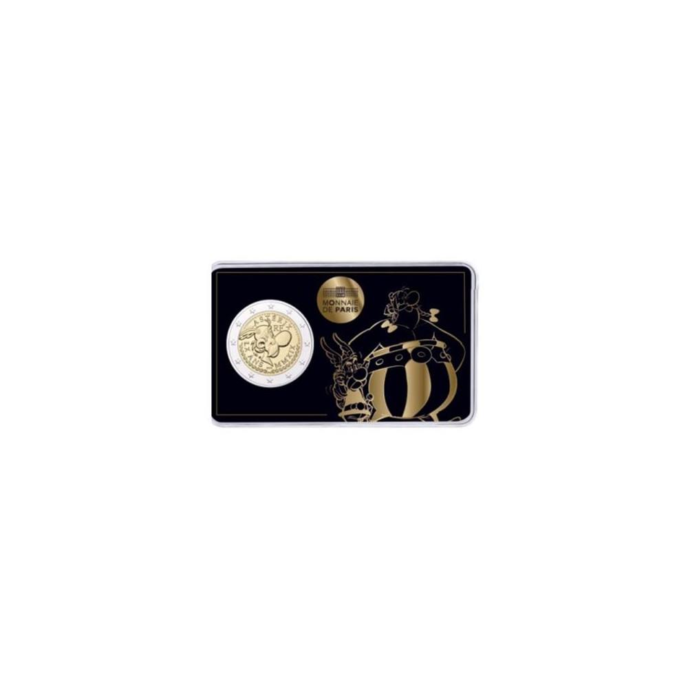 Frankrijk 2 euro 2019 '60 jaar Asterix' - BU-kwaliteit in coincard 'Asterix en Obelix' - Leverbaar eind week 24