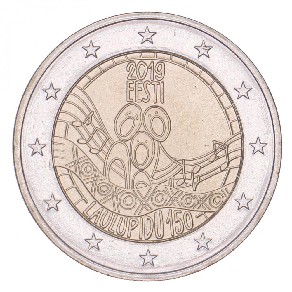 Estland 2 euro 2019 'Songfestival'