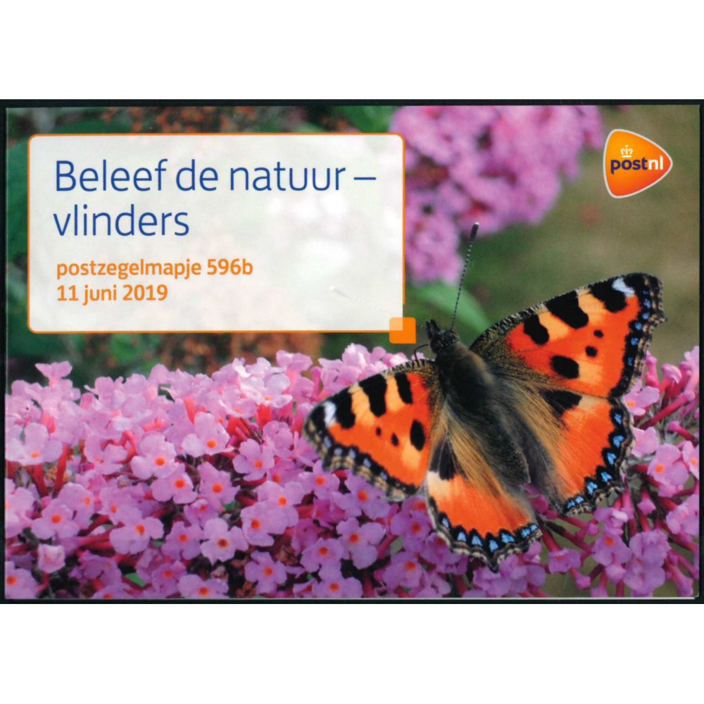 2019 Nederland 2 postzegelmapjes | Beleef de natuur, vlinders