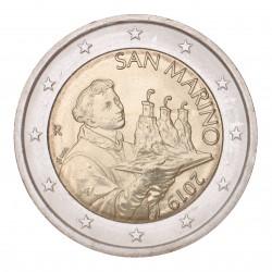 San Marino 2 euro 2019 circulatiemunt