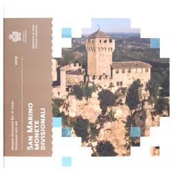 San Marino BU-set 2019 zonder 5 euro