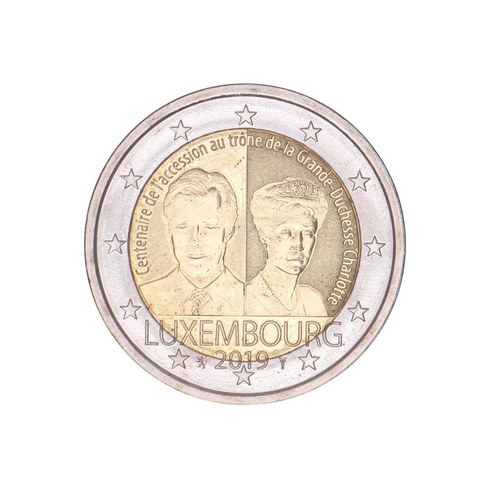 Luxemburg 2 euro 2019 'Charlotte'