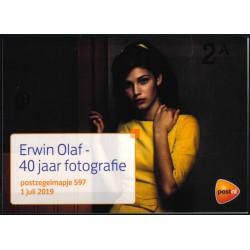 2019 Nederland postzegelmapje | Erwin Olaf 40 jaar fotografie