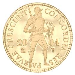 Koninkrijksmunten Nederland Gouden dukaat 2004